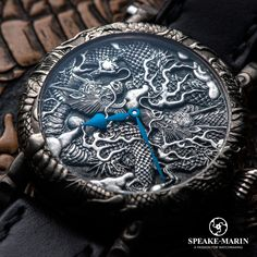 Speake-Marin reveals a new unique art timepiece from the Cabinet des Mystères: The Kennin-ji Temple Masters Project. www.speake-marin.com