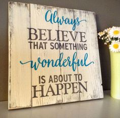 wooden signs with sayings - Google Search