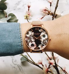 Tips For Jewelry Lovers – Brook Jewellers Stylish Watches For Girls, Trendy Watches, Olivia Burton, Gold Apple Watch, Fashion Accessories, Fashion Jewelry, Accesorios Casual, Fashion Watches, Piercing