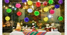 festa mexicana que fizemos em casa foi simples e agradável. Você pode fazer usando tudo o que já tem em casa.