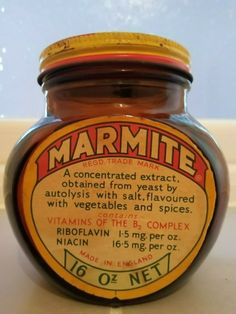VINTAGE OLD MARMITE JAR .   eBay Marmite, Ol Days, Jar Storage, Good Ol, Earthenware, Jars, Vitamins, Spices, Vegetables