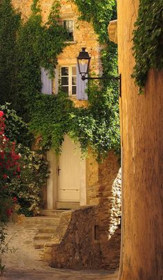 Rustic and Country Charm ~ Entryway, Barroux, France