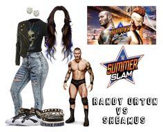 """Summerslam: Randy Orton Vs. Sheamus"" by raine-wwe ❤ liked on Polyvore featuring Venom, Alexander McQueen, Auriya and Mi Lajki"