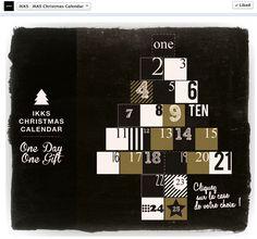 IKKS Christmas Calendar Facebook #Socialshaker