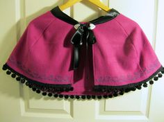 Anna Inspired Capelet Child's Size by LetItBow on Etsy