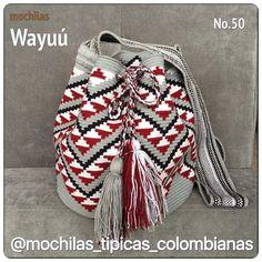 Nuevas Mochilas @la_guajira @mochilas_tipicas_colombianas @suenoswayuu… … Crochet Chart, Knit Or Crochet, Crochet Patterns, Tapestry Bag, Tapestry Crochet, Mochila Crochet, Paws And Claws, Crochet Purses, Crochet Bags
