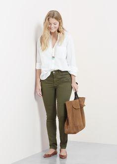 Violeta by Mango | Super slim-fit Colchi jeans