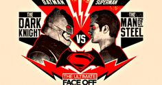 'Batman v Superman' Posters: The Battle for Gotham City! -- The Dark Knight gets ready to face-off against the Man of Steel in three new boxing style fight posters. -- http://movieweb.com/batman-v-superman-posters-gotham-city-battle/