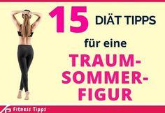 15 Diät Tipps für eine Traum-Sommer-Figur