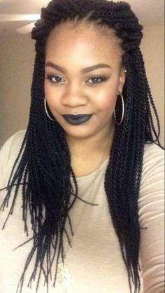 Crochet Senegalese twist Crochet styles Hair styles, Crochet crochet hair styles with senegalese - Crochet Hair Styles Crochet Twist Hairstyles, Senegalese Twist Crochet Braids, Crochet Braid Styles, Twist Braids, Braided Hairstyles, Black Girl Braids, Girls Braids, Senegalese Hairstyles, Senegalese Styles