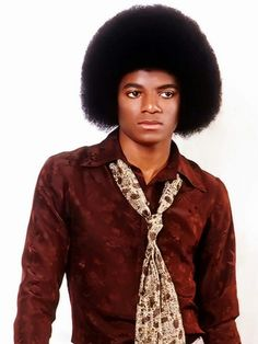THE Michael Jackson, in all his natural glory.