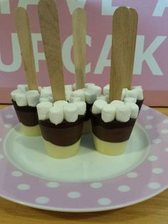 5 Hot chocolate spoons with mini marshmallows, Stocking filler,secret santa,xmas in Home, Furniture & DIY, Food & Drink, Sweets & Chocolate | eBay