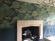 """""""The Brook"""" wallcovering - Archive III wallpapers."""