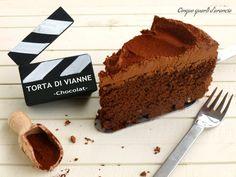 """La Torta di Vianne è la seconda ricetta del mio speciale """"Ciak si mangia"""". Si…"""