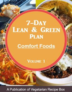 Comfort Foods Cookbook Volume Meal Plan Guide for Lean and Green recipes Easy Healthy Dinners, Healthy Dinner Recipes, Indian Food Recipes, Diet Recipes, Vegetarian Recipes, Medifast Recipes, Lean Protein Meals, Lean Meals