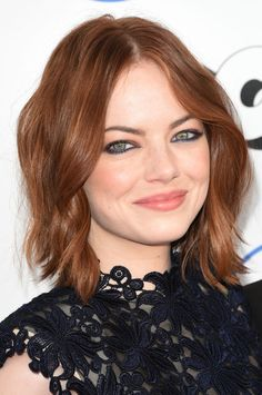 Emma Stone at the 2015 Independent Spirit Awards.