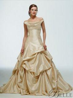 Belle inspired wedding dress by Kirstie Kelly