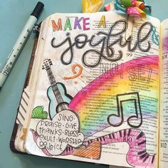 Bible Journaling by @ps348girl