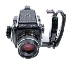 Mamiya M645 - my first medium format, I swopped it for a Mamiya 6x9 later.