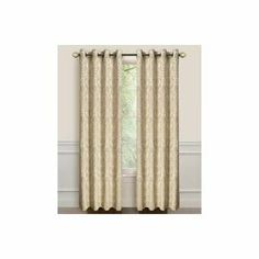 Dainty Home LaVista Heavy Jacquard Grommet Window Curtain Panels Set of Green Rod Pocket Curtains, Grommet Curtains, Curtain Panels, Window Panels, Window Curtains, Bedroom Curtains, Elegant Curtains, Colorful Curtains, Dark Purple Walls