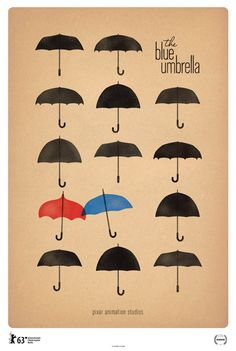 The Blue Umbrella: Pixar's Newest Short Film. So simple, awesome, and beautiful :) // this was a great short.
