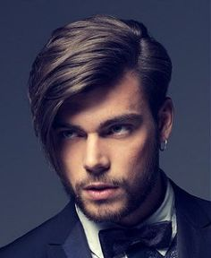 Hairstyle for men. Such a hottie!