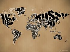 world map wall art decor for interior design, world map wallpaper Do you think to use world map decor in your interior then we show you the best ideas to make world map art and decor ideas in your interior rooms, world map wall art, floor and ceiling Typography Wallpaper, Creative Typography, Typography Art, Typographic Poster, World Map Wallpaper, Free Desktop Wallpaper, Travel Wallpaper, Computer Wallpaper, Hd Desktop