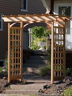 How to build a simple garden arbor pinterest arbor ideas garden how to build a simple garden arbor instructions and materials list from thegardenglove solutioingenieria Gallery