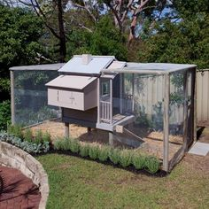 Better Homes and Gardens Australia : a clever idea of turning a cubby house into a chicken coop! (instructions in the mag)