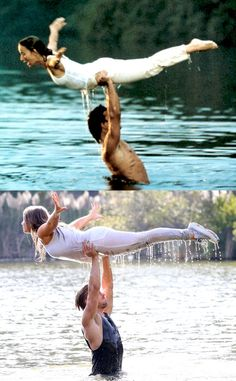 Bindi Irwin and Derek Hough Recreate Dirty Dancing's Iconic Water Lift Scene. Check Out the Adorable Pics! | E! Online Mobile