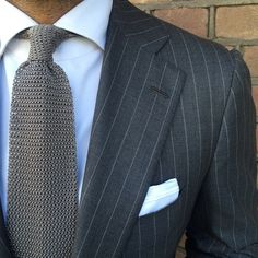 Viola knit and Attolini stripes