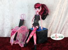 Jeans Fashion  e.g. Monster High, Ever After High 63031 PinkBlack