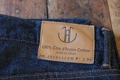 Japan Blue Cote d'Ivoire Cotton Jeans - Just Released