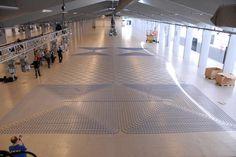 World's longest LEGO train track set-up