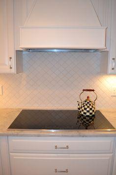 lantern tile back splash induction cooktop