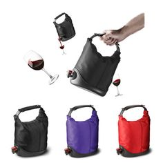 Wine Purse, for the Grove! Wine Purse, Brown Coach Purse, Great Inventions, Cool Gadgets, Cool Stuff, Stuff To Buy, Random Stuff, Gym Bag, Great Gifts