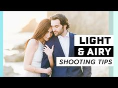 How to Shoot Light & Airy Portraits // Outdoor Natural Light Photography Tips - YouTube