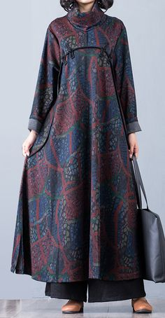 Unique blue prints cotton dresses patchwork Maxi side open DressCustom make service available! African Fashion Dresses, Fashion Outfits, New Long Dress, Baggy Dresses, Open Dress, Hijab Fashion Inspiration, Blue Prints, Evening Dresses For Weddings, Muslim Fashion