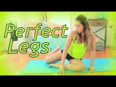 I designed the BEST leg sculpting and thigh slimming routine for you that doesn't require you to squat or even stand up. Don't worry though, it's still hard ...