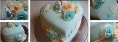 2 kg torta, ala pribináčik s čerstvými jahodami a čučoriedkami
