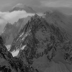 Mont Blanc and the Aiguille du Midi from the top of Les Grands Montets #chamonix #chamonixmontblanc #montblanc #aiguillledumidi #mountains #grandsmontets #skibreezy #naturalbeauty