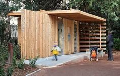 Public Toilets in the Tête d'Or Park / Jacky Suchail Architects