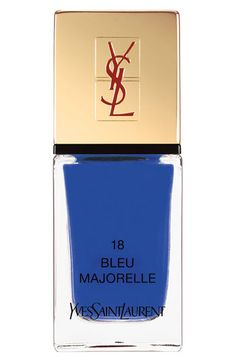 Pretty Painted Fingers & Toes Nail Polish| Serafini Amelia| Yves Saint Laurent 'La Laque Couture' Nail