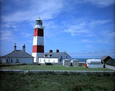 Bardsey Island Lighthouse, Caernarfonshire Current lighthouse built: 1821 Geographic Position: 52° 44'.97 N 04° 47'.95 W