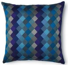 Dreams cushion Cobalt, also available in Slate Multi Ring Pillows, Throw Pillows, Family Room, Home And Family, Grey Cushions, Cobalt, Decorative Pillows, New Homes, House Design