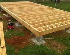 Plans How to Build Wood Joist Floor for House Barn Shed garage
