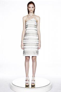 ERIN BARR : Inez Cotton/Silk Blend Wrap Dress