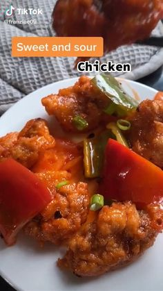 Homemade Chinese Food, Healthy Chinese Recipes, Indian Food Recipes, Asian Recipes, Healthy Recipes, Chinese Fast Food, Sweet Sour Chicken, Sweet And Sour Prawns, Sweet And Sour Recipes