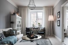 A small, neutral apartment in Sweden - desire to inspire - desiretoinspire.net
