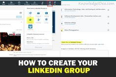 Learn how to create your LinkedIn group within few simple steps. Simple 4 easy steps by following you can create your own professional LinkedIn group.